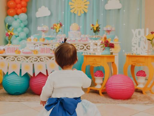 Aniversário de 1 ano da Helô