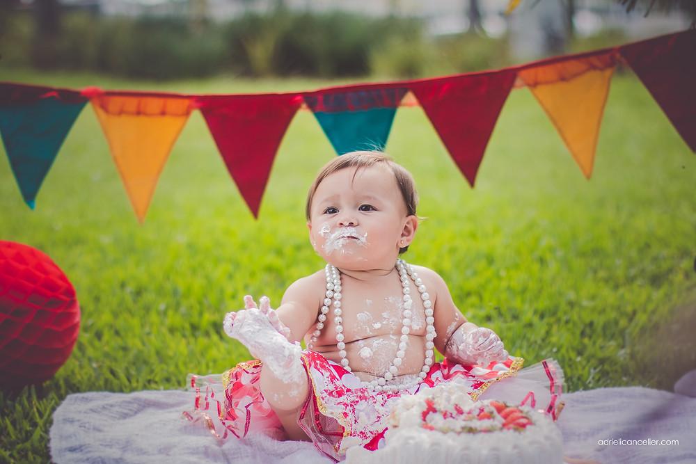 ensaio fotografico de bebe de aniversario de um ano