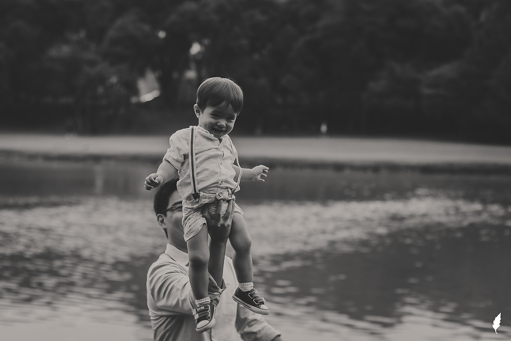 ensaio fotográfico externo de família