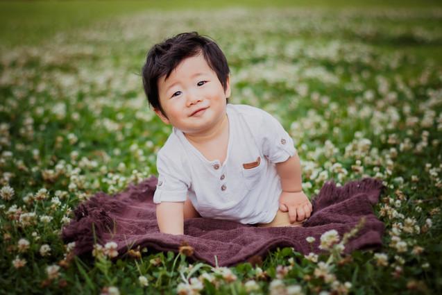 fotos de bebe no parque