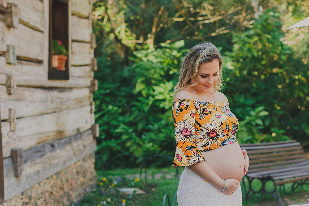 roupas estilosas para grávidas