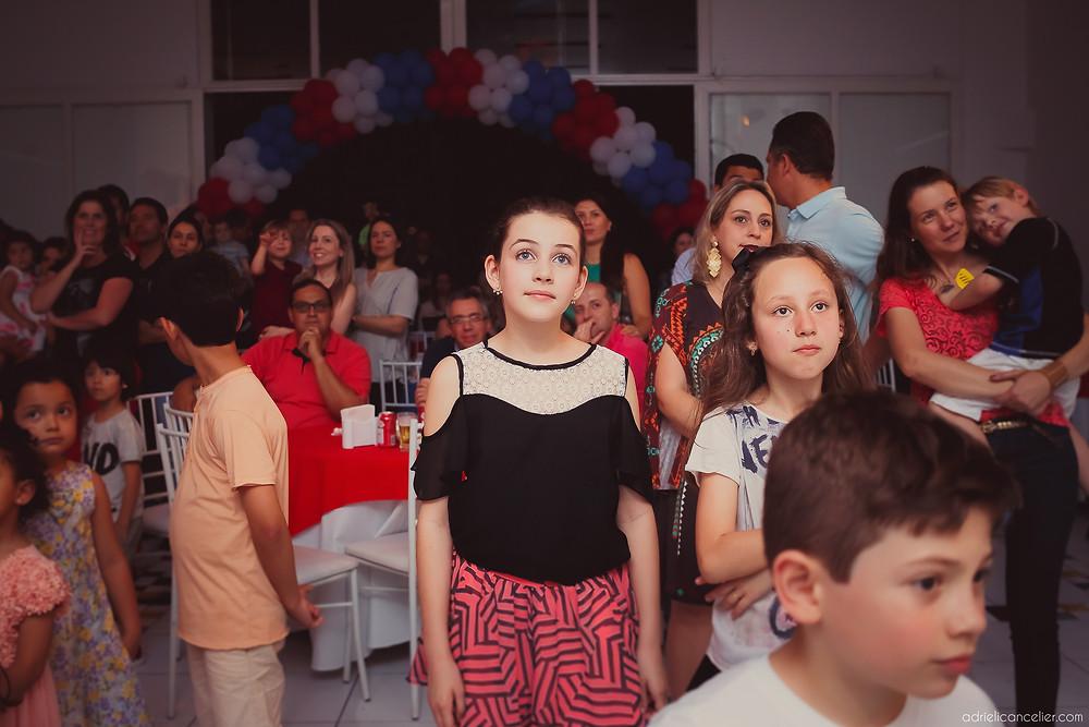 fotografia de festa infantil em Curitiba