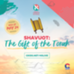 Copy of Shavuos - The gift of the Torah.
