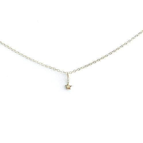 Star-Drop Necklace