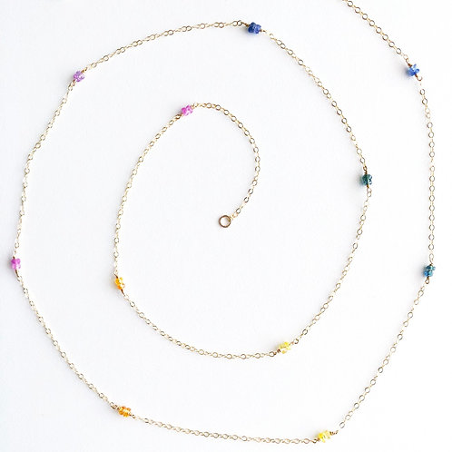 Rainbow Layer Necklace