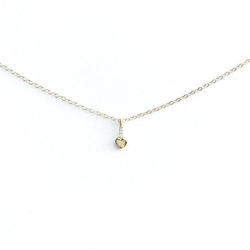 Heart-Drop Necklace