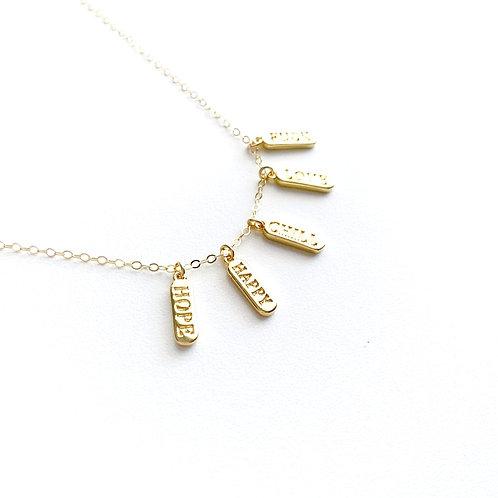 Memo Necklace