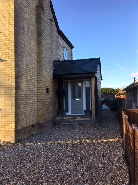 Sawston Double Storey Side Extension