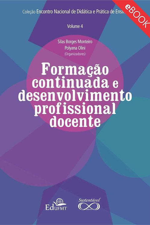 FORMAÇÃO CONTINUADA E DESENVOLVIMENTO PROFISSIONAL DOCENTE