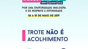 Semana do Acolhimento UFMT 2019/1