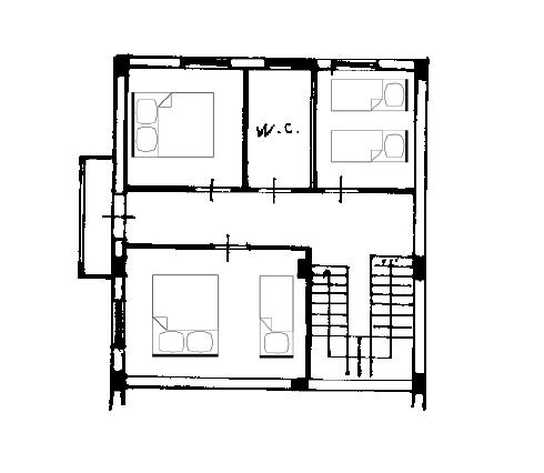 planimetria vista erice Stagnone Holiday Apartment