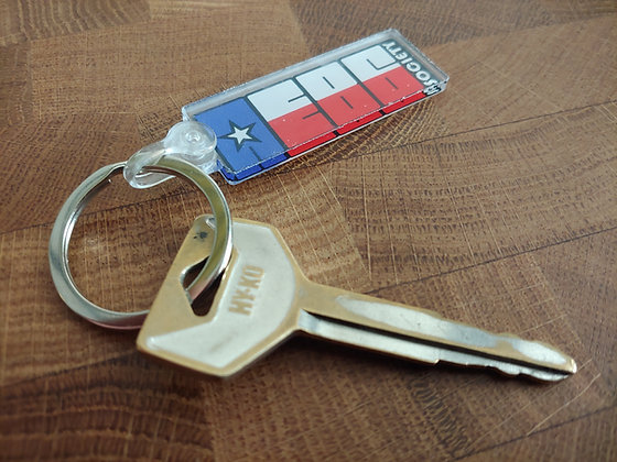 AE86 Society of Texas Keychain