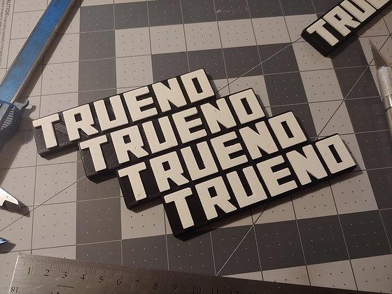 TRUENO - refrigerator magnet