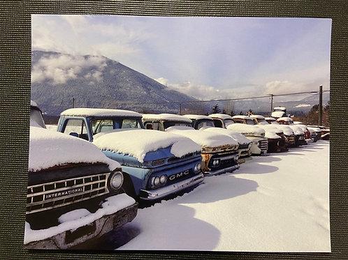 Winter Trucks - 8x10 Print