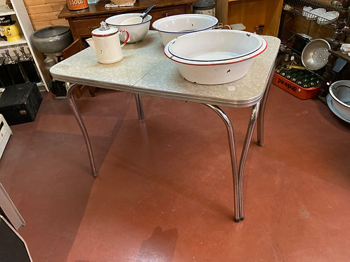 Small Vintage Diner Table