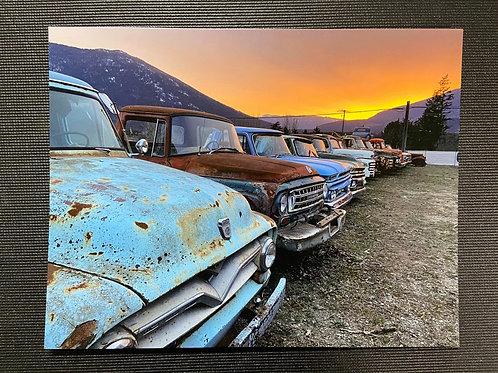 Sunset Trucks - 8x10 Print