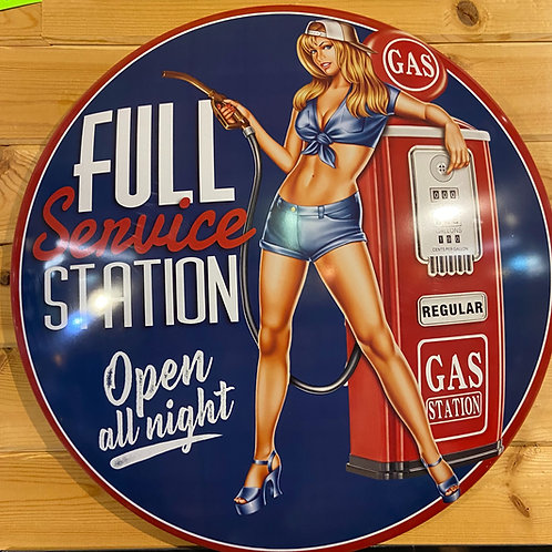 Automotive Domed Metal Signs