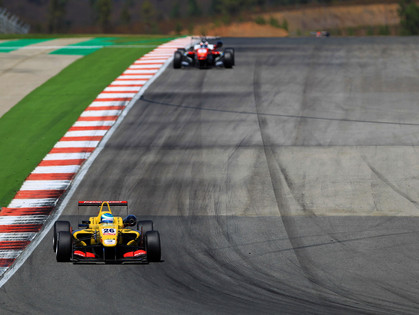 Tveter Is Just Two Spots Out of the Points In FIA Formula 3 European Series Race Sunday