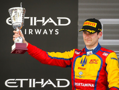 America's Tveter Ends 2017 On the Podium in GP3 Series