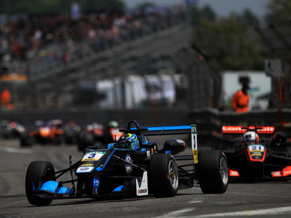 Tveter Records Two Seventh-Place Finishes As FIA Formula 3 Visits the Streets of Pau