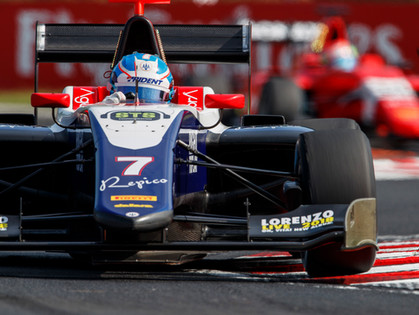 Tveter Records Another Top-Five Finish In GP3 Feature Race at Hungarian GP