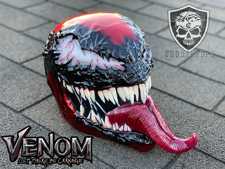 Carnage Venom 2 with Tongue HQ Resin