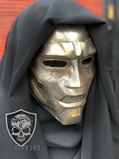 The Doctor Doom (Special effect Rustic) Helmet HQ Resin by Godofprops