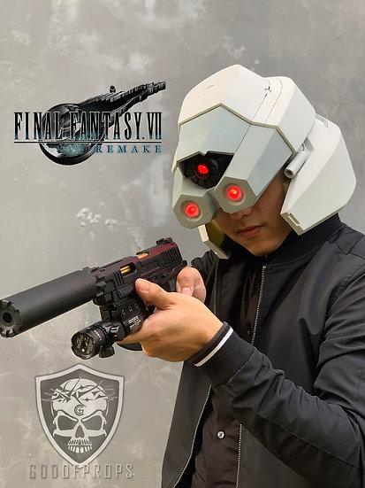 Shinra soldier helmet FF7R HQ Resin Fiberglass