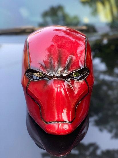 Red hood Rebirth Helmet HQ Resin