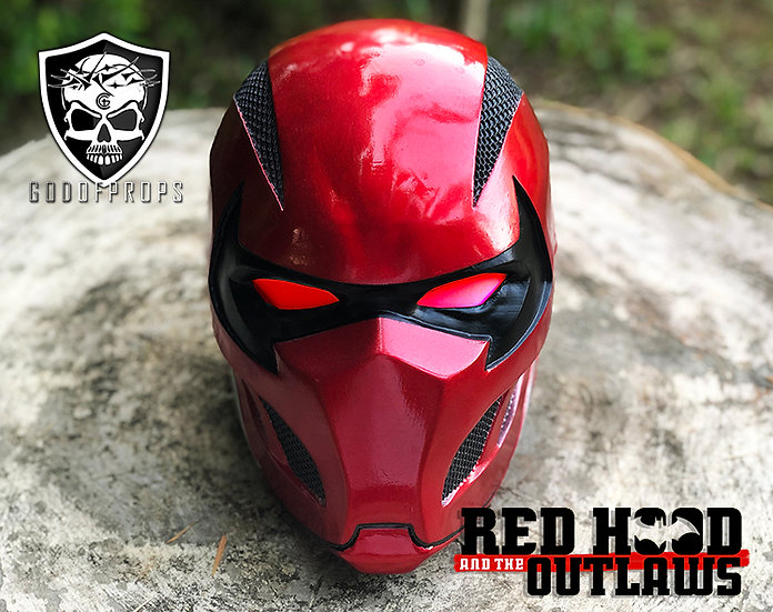Red Hood Outlaws HQ Resin By Godofprops
