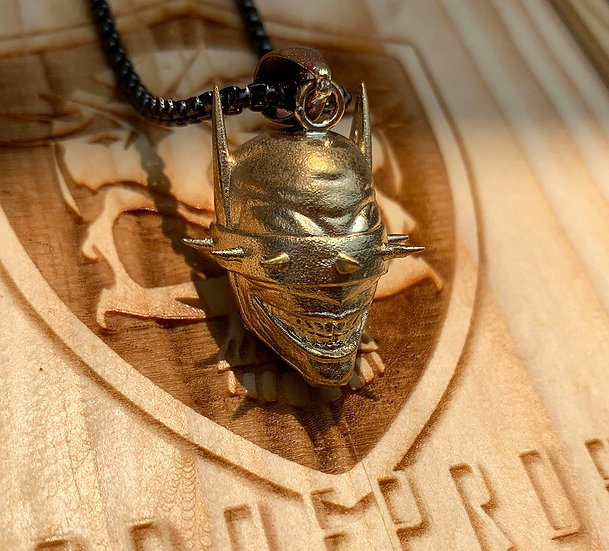 Premium Necklace - Stainless steel Batman who laughs