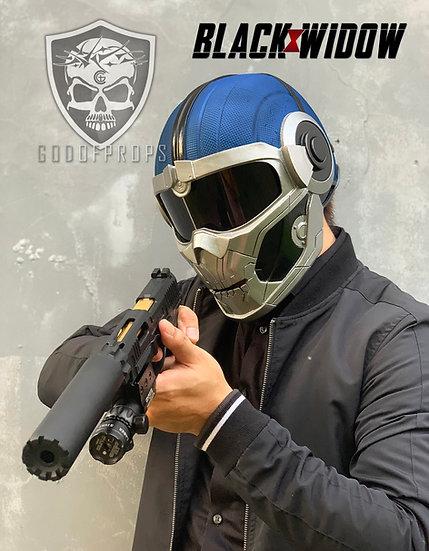 Taskmaster Helmet Blackwidow HQ Resin