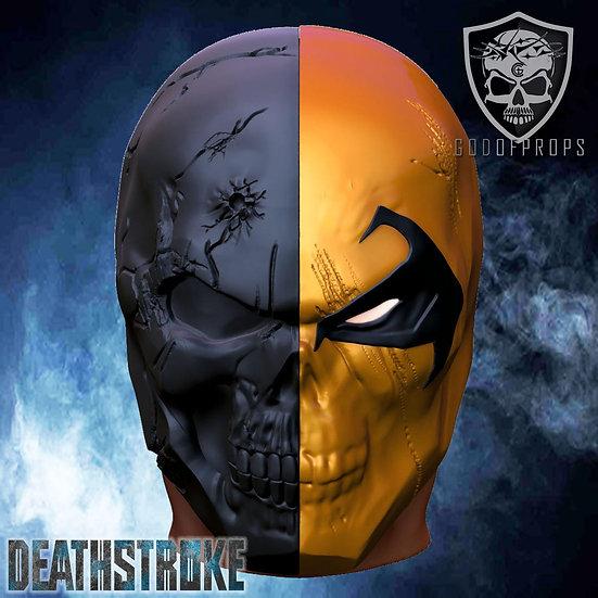 Deathstroke dark skull HQ Resin PRE ORDER Special price
