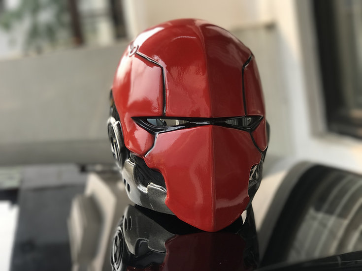 Red hood Dexter Godofprops HQ Resin