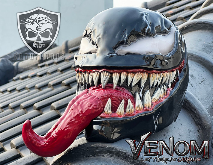 Venom helmet 2021 Let there be Carnage HQ Resin Extremely detailed