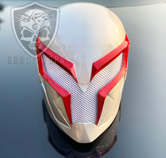 Spiderman 2099 White Fiberglass by Godofprops