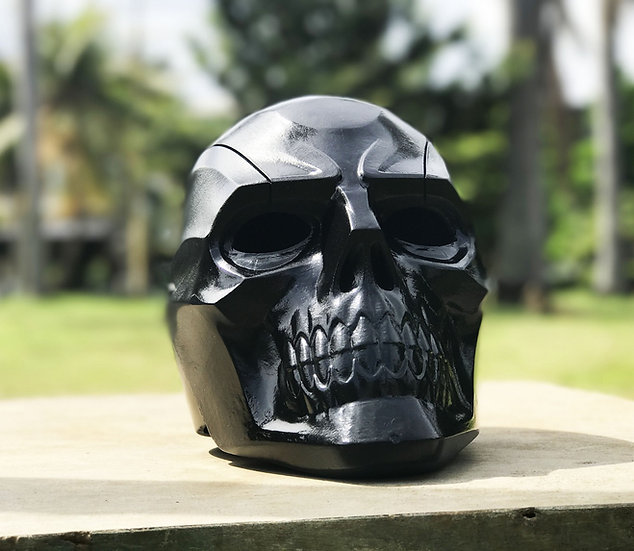 Blackmask Helmet From Batman Arkham Knight HQ Resin
