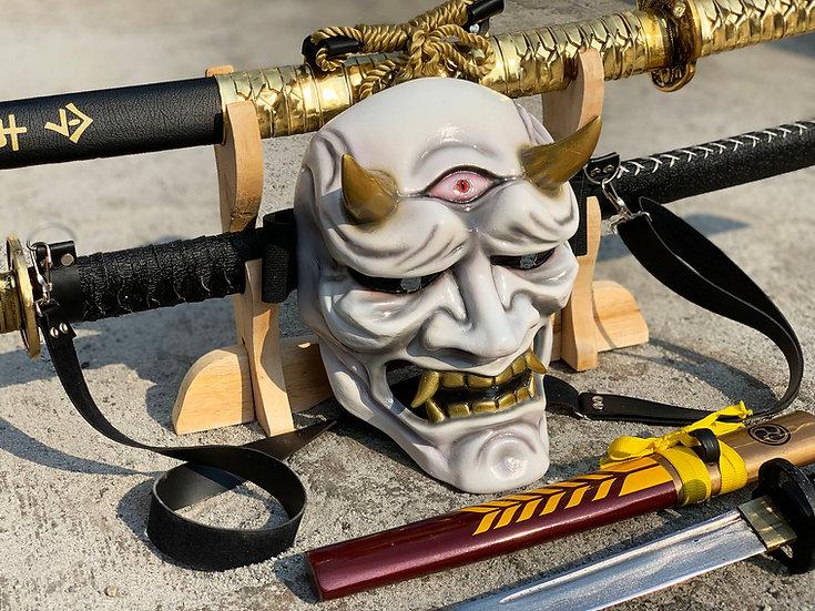Hannya Mask The Third Eye (White Onimusha) by Godofprops