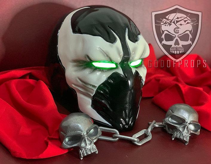 Spawn mask HQ Resin MK11 + Vampire skull chain (Included)