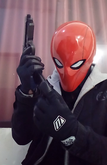 Red hood Helmet Arkham knight