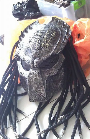 Predator wolf celtic mask Fiberglass HQ resin