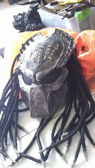 Predator wolf celtic mask Fiberglass HQ resin