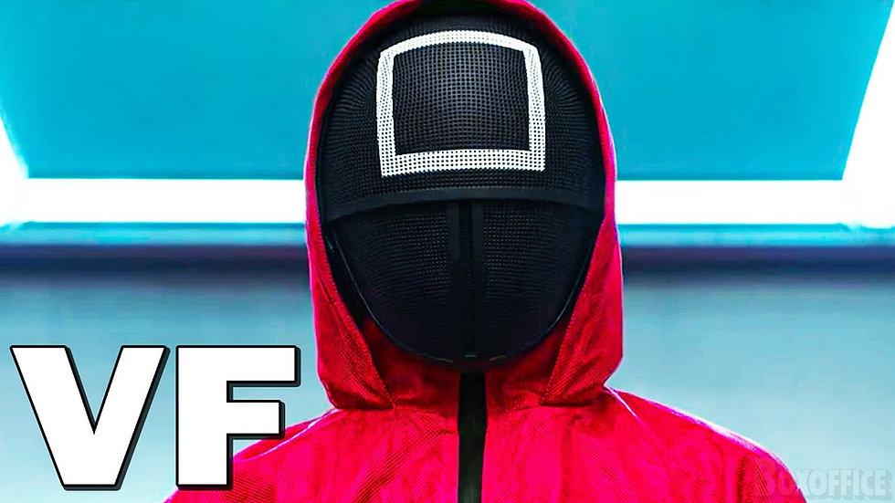 Squid game Solider + Front man mask (2 item combo) BUNDLING