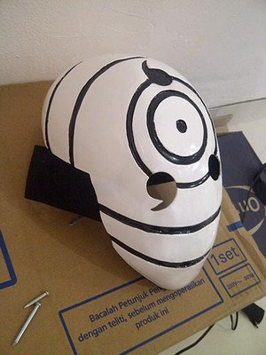 Rinegan Tobi Naruto cosplay mask
