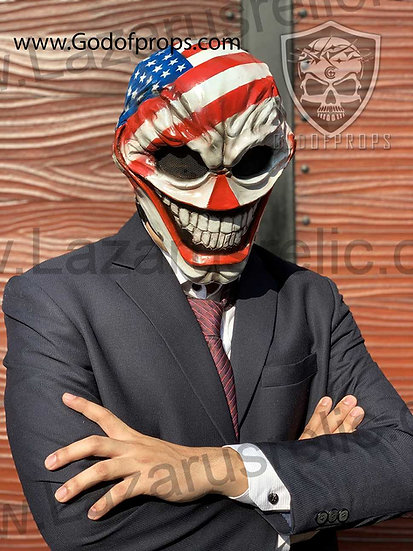 Payday 2 Mask HQ Resin