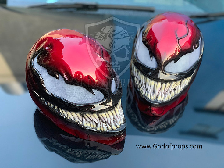 Carnage Mask Cletus Kasady HQ Resin by Godofprops