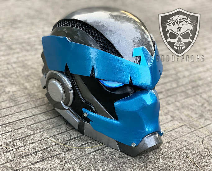 Armored Nightwing Dick Grayson Helmet HQ Resin