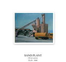 Finding the beauty in a local sand plant near Monterey, California.