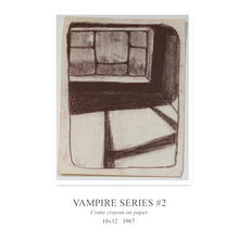 Another in the same vampire series, reflecting the slightly art nouvea style I loved at the time.