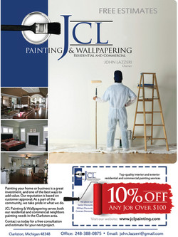JCL Painting flyer